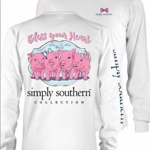 simply southern long sleeve tee!